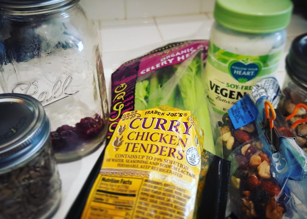 ingredients-chicken salad